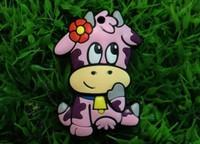 Wholesales 10pcs/lot cartoon dairy cow usb flash drive pen drive /u disk/car/gift