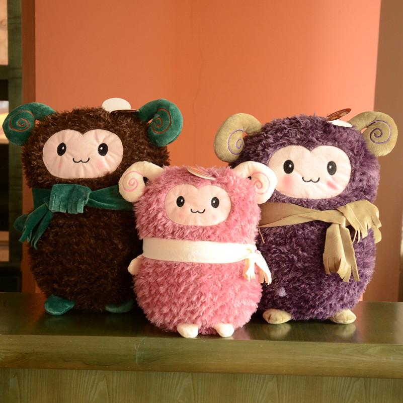 Modern brief cartoon cloth sheep lovers decoration home accessories wedding gift crafts(China (Mainland))