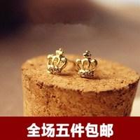 Elegant small diamond stud earring fashion accessories anti-allergic earring