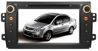 SUZUKI SWIFT DVD GPS;7 inch digital TFT LCD;built-in bluetooth & navigation;touch screen;Steering Wheel Control;wholesale