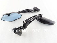 Motorcycle Matte Black Mini Sport Mirrors for Honda CBR 250 600 F4i 929 954 1000 RR Free shipping