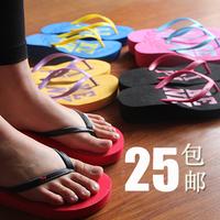 Summer wedges flip flops women's shoes wedges platform beach clip slippers fashion sandals