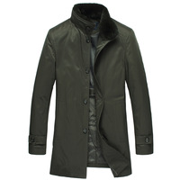 Likest detachable liner down coat men's clothing down coat men's clothing outerwear