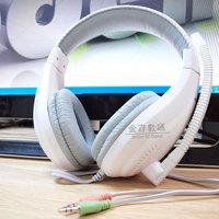 free shipping NO1 NO-2000 audio encoding game headphones 5.1 headsets 3.5mm computer headphone CS game headband earphone