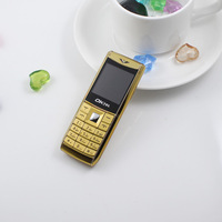 Metal 2013 ultra-small mini mobile phone bar dual sim dual standby mini pocket-size small mobile phone