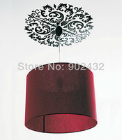 Black Vines Classical Ceiling Light Art Decorative Removable Wall Decals Stickers Home Decor - JiaMing Decoration