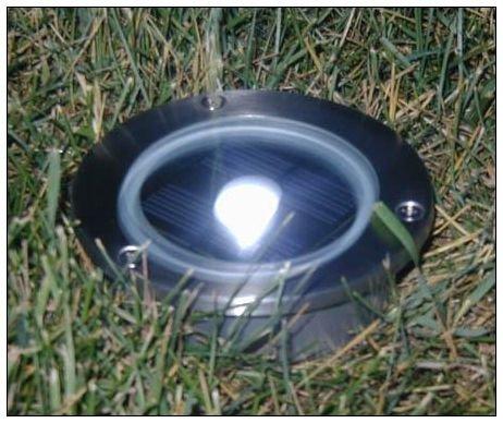 outdoor lighting stainless steel solar accent garden light