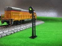 JTD03 Model Railway 2-Light Block Signal Green/Red HO Scale 6cm 12V Led New