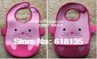 5 Animals Cartoon Lovely Baby  Bibs  High Quality with Low Price Wholesale