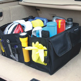 2013  new hot sale Car trunk finishing box storage box sundries box storage bags glove bag cow muscle bag