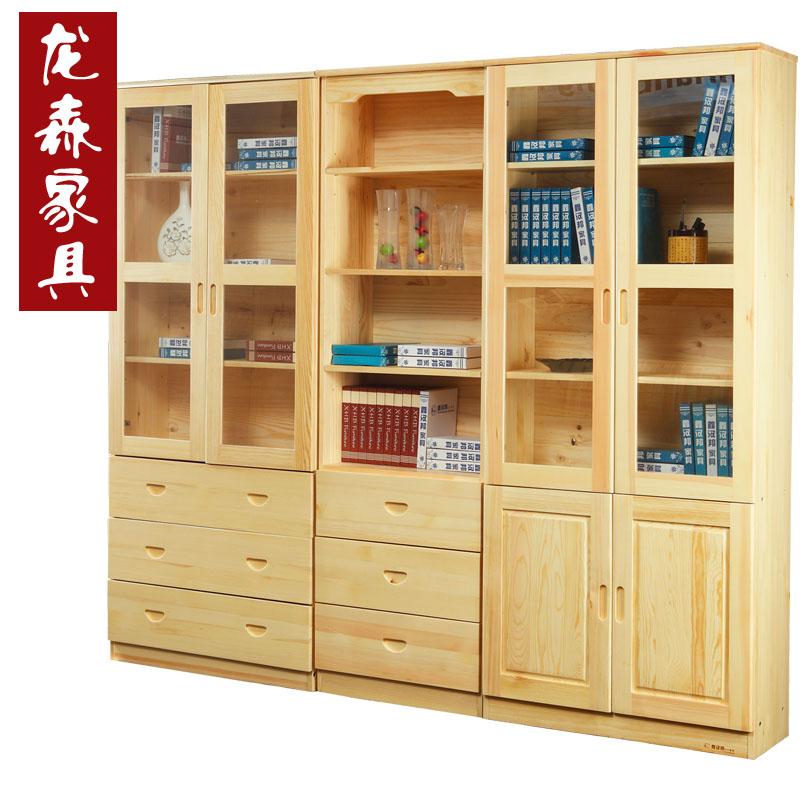 combination bookcase bedroom furniture pine door combination bookcase