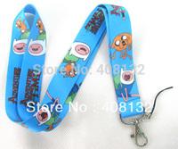 Free Shipping 10 pc Adventure Time Phone Lanyard Key ID Neck Strap