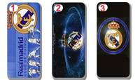 Wholesale Real Madrid football team hard case cover for iphone 4 4s 4g 4th  free shipping 10pcs/lot