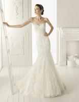 2013 Hot sale  Elegant Mermaid Sweetheart Beaded Organza Chapel Wedding Dress Party dress Custom-made