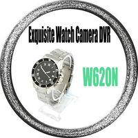 Free shipping, W620N USB 2.0 Exquisite Waterproof  Watch Camera Cam Video Recorder Camera Mini DV DVR