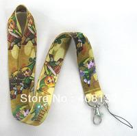 New Arrive Sale 10 Pc ZELDA Fashion LANYARD mobile phone chain Neck straps charms