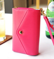 IVY Fashion store ZH0230 2013 New Metal Crown hand bag women wallet lady wallet phone case bag pouch handbags
