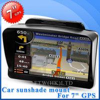 "2014 New Plastic navigators mount Car Sunshade Shield Holder for 7"" GPS Navigator C2-8"