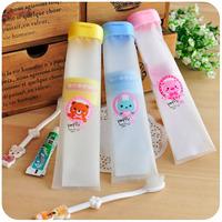 organizador makeup organizer organizer free shipping hearts . portable travel toothpaste toothbrush tube dental set soft plastic