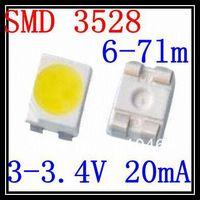 Best Price SMD 3528 LED  White 3.0-3.4V 20mA 2K/Reel 6-7lm