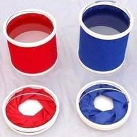 free shipping portable Car bucket car wash bucket folding bucket outdoor bucket for car wash