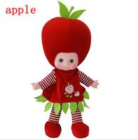 Hotsale Russian  fashion educational toys,speaking, music doll,lovely fruit speaking educational  dolls,best gift for children