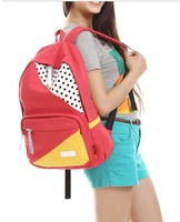 Free shipping Students rucksack schoolbag girls canvas backpack casual bags