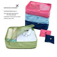 Folding travel storage bag clothing underwear bra storage bag size