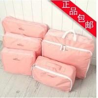 Travel storage bag large capacity clothing sorting bags bag storage bag waterproof storage five pieces set