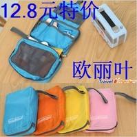 Travel check travel wash bag storage bag cosmetic portable