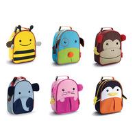 New 2013 Children Zoo Lunch Bags Multi-function Meal Package bag kids school  brand bag