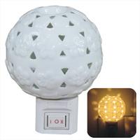 Meters aromatherapy lamp plug in night light lamps lighting ceramic night light wall lamp essential oil aroma lamp