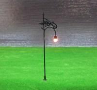 R2 Model Railway Lamppost Lamps Street Lights HO Scale 11cm 6V New