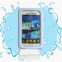 Hot Selling Cover Protective PVC Waterproof Case For Samsung Galaxy Note II 2 n7100