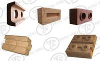 small manual interlocking brick making machine