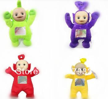 Teletubbies Plush  4pcs/lot 10inch high quality Teletubbies Plush Doll Stuffed Toys  Toy  Kids  Friend Toys