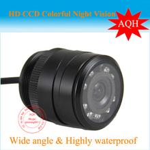 Free Shipping Car vehicle Rear View Camera Back Up IR cam,wide degree. resersing camera(China (Mainland))