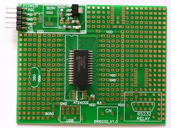 Microchip mcu 28 pin development board pic16f913-i so chip