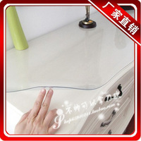 Glossy transparent scrub dining table cloth soft glass table mat table cloth tablecloth pvc crystal plate waterproof oil