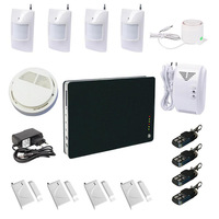 Wireless home alarm GSM wireless burglar security alarm system for home office and so on