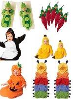 6 designs for choose- Baby sleeping bag caterpillar pea banana penguin chilli Pumpkin sleeping bagssack