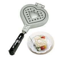 Stovetop Heart Shape Waffle Pan Mold Iron