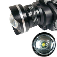 CREE XM-L T6 LED 2000Lm Rechargeable Zoomable Headlamp Headlight