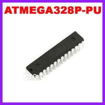 ATMEGA328P-PU CHIP ATMEGA328 Microcontroller MCU AVR  FLASH DIP-28 Free Shipping Wholesale