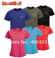 Brand Genuine Sports Apparel Men's women's Running Fitness Short Sleeve Sports T Shirts Gym Quick Dry High Quality