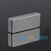 10PCS Big Bulk Super Strong Strip Block Magnets Rare Earth Neodymium 50 x 20 x 10 mm N35 Free Shipping