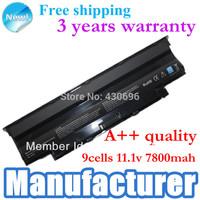 9cells Laptop Battery For DELL Inspiron 13R 14R 15R 17R M411R M501 M5010 N3010 N3110 N4010 N4110 N5010 N5030 N5110 N7010 N7110