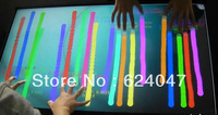 "Free shipping, 37"" IR touch overlay kit , IR touch frame without glass, Infrared touch screen"