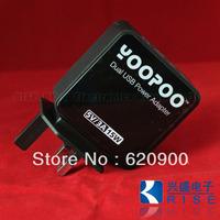 100% GUARANTEE Original YOOPOO 2USB 5V3A 15W Super Power Charger for iPhone ipod HTC IPAD UK