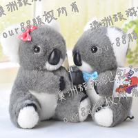 Koala australia cinereus strap bow lovers koala kl26